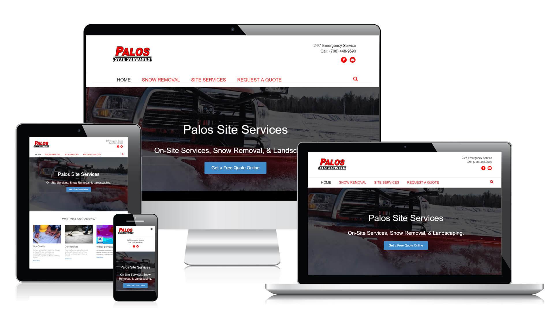 Palos Site Services Responsive