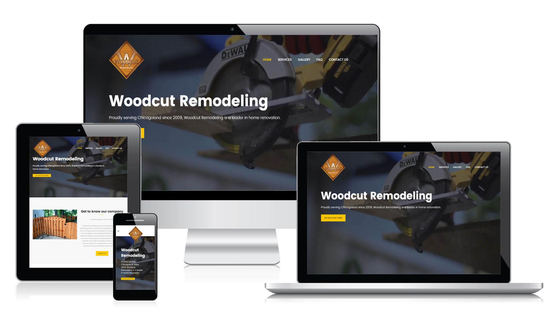 Woodcut Remodeling Responsive